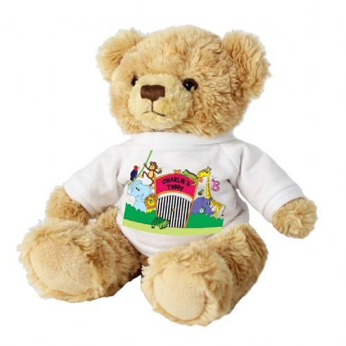Personalised Zoo Message Bear